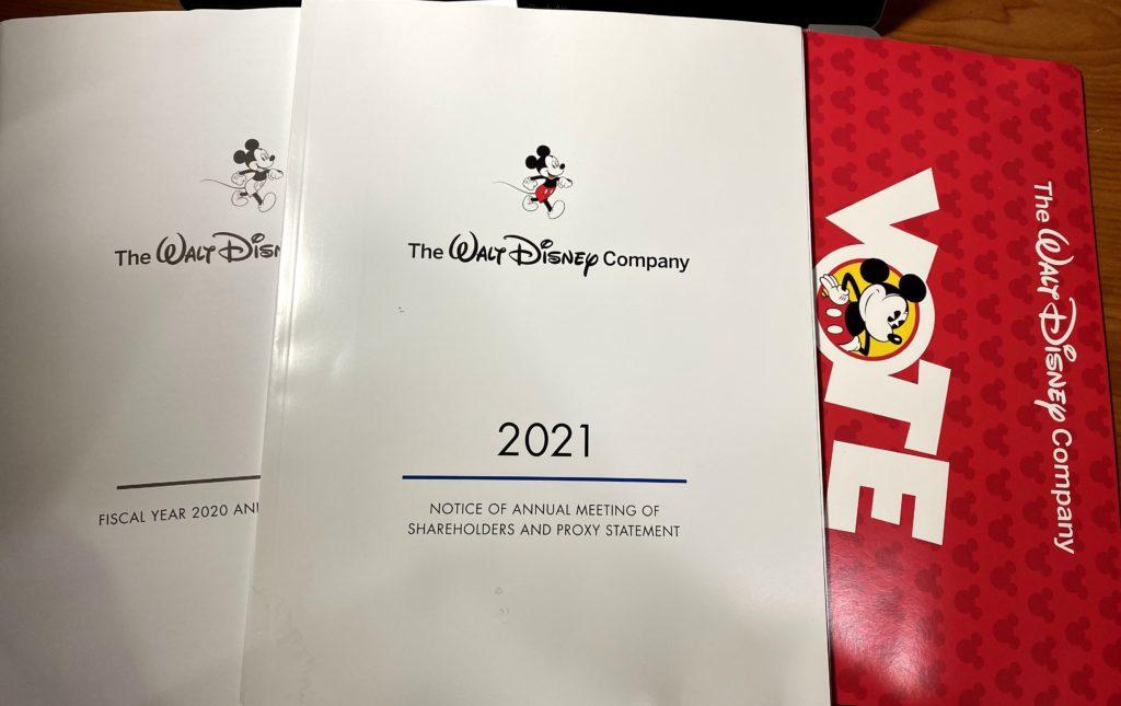 迪士尼2021年報
